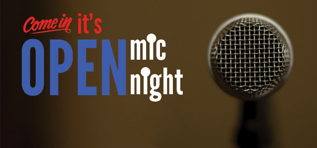 open mic night at clementinee